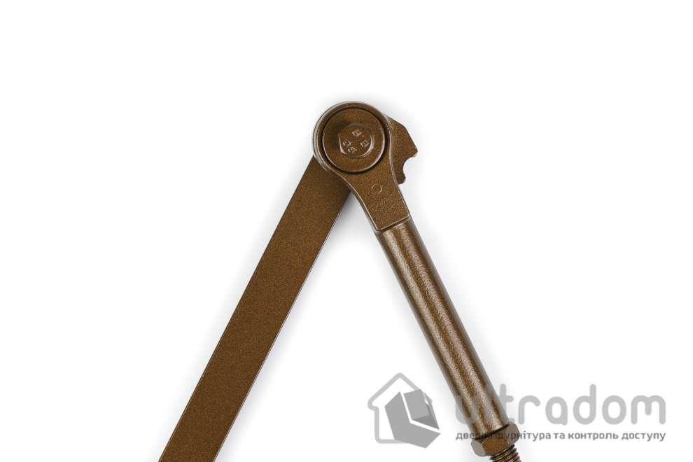 Рычажная тяга SIBA для доводчика SIBA SB-1024, коричневая (SB-HOP1 Bronze)