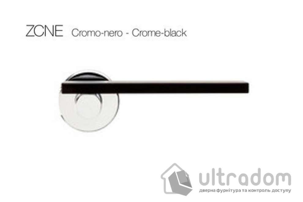 Дверная ручка DND by Martinelli MINIMA - хром-черный ZCNE