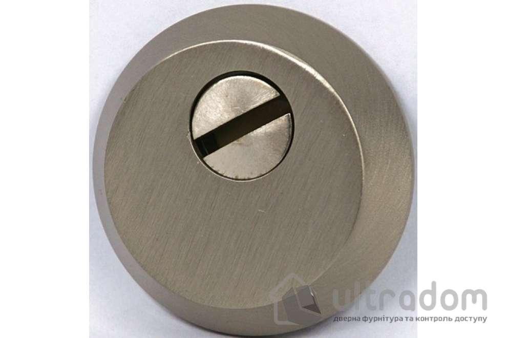 Броненакладка для цилиндра SIBA S400, матовый никель SN