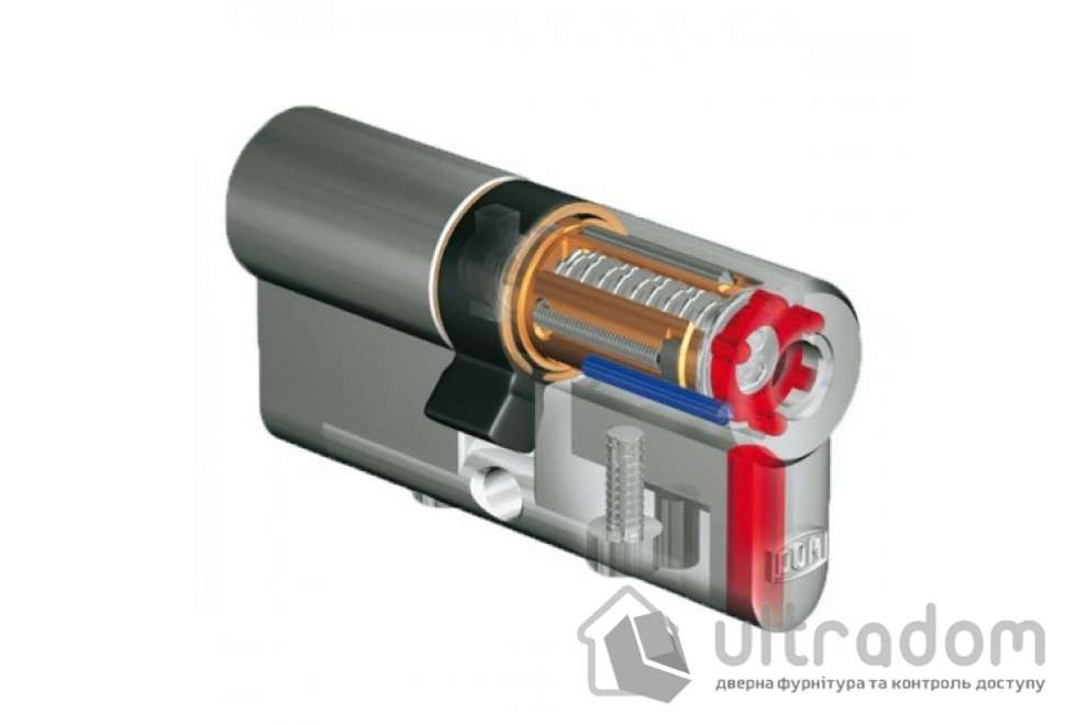 Цилиндр дверной DOM Diamond ключ-ключ 84 мм
