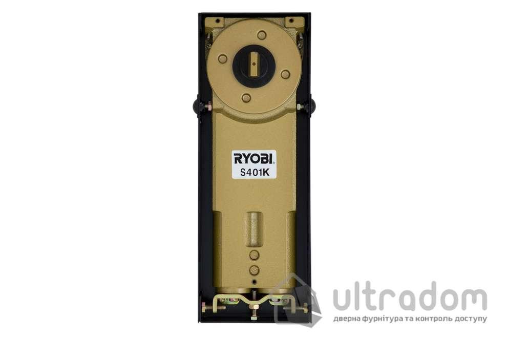 Доводчик дверной напольный RYOBI S-401N EN4 дверь до 80 кг