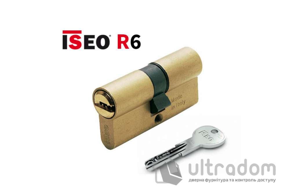 Цилиндр дверной ISEO R6 ключ-ключ, 60 мм