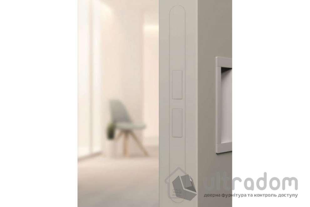 Магнитный межкомнатный замок AGB Touch, цвет магнита - белый