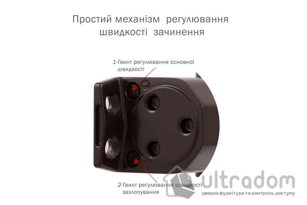 Доводчик дверной RYOBI D-1554 EN2-4 дверь до 85 кг