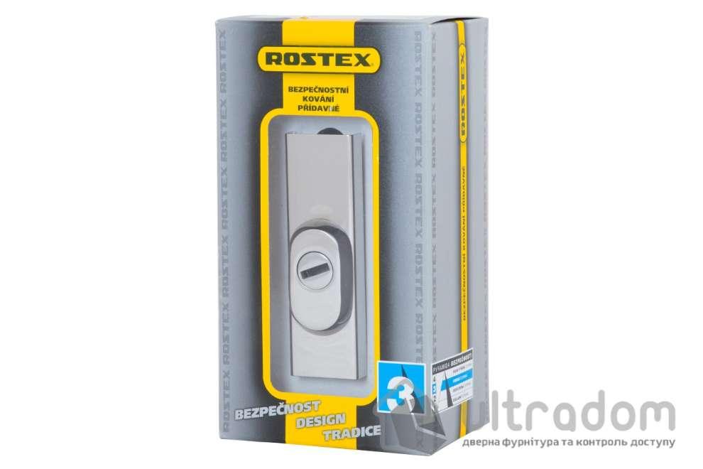 Броненакладка ROSTEX R3 DIN PLATE 22мм, хром полированный