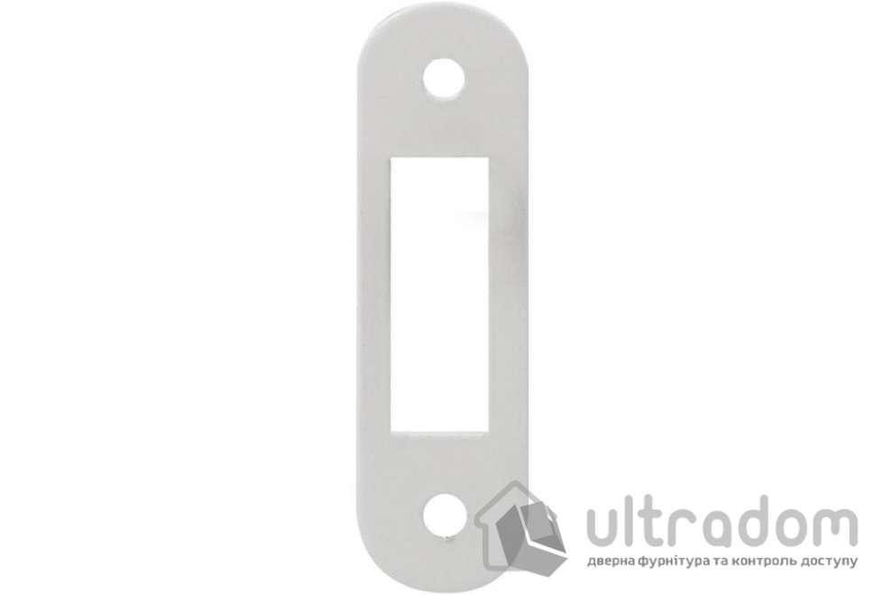 Ответная планка для магнитных замков AGB Easy-FiX, цвет - белый