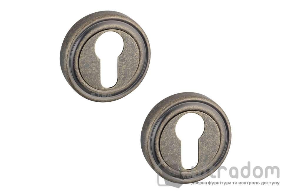 Накладки под цилиндр PZ SIBA R06 бронза античная 82 40