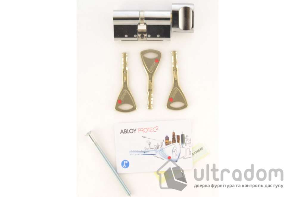 Замковый цилиндр ABLOY Protec 2 ключ-вороток, 112 мм