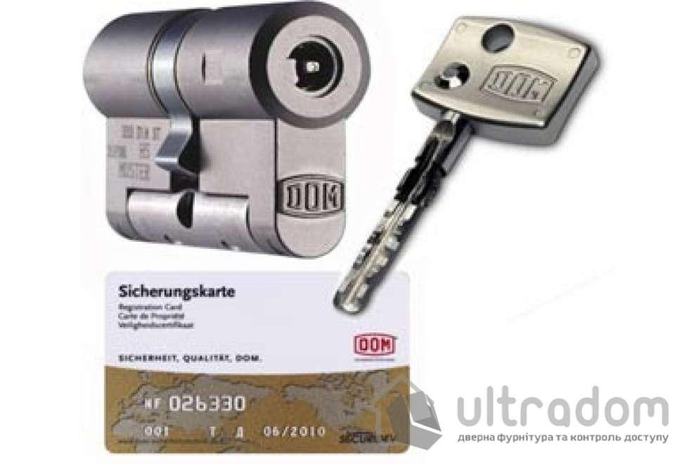 Цилиндр дверной DOM Diamond ключ-ключ 124 мм