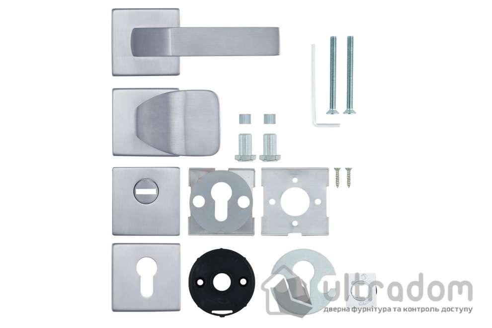 Фурнитура защитная ROSTEX QUADRUM R/H fix-mov нержавеющая сталь