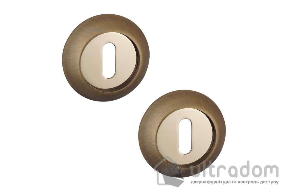 Накладка под ключ BB SIBA R02 матовый кофе / золото 85 90