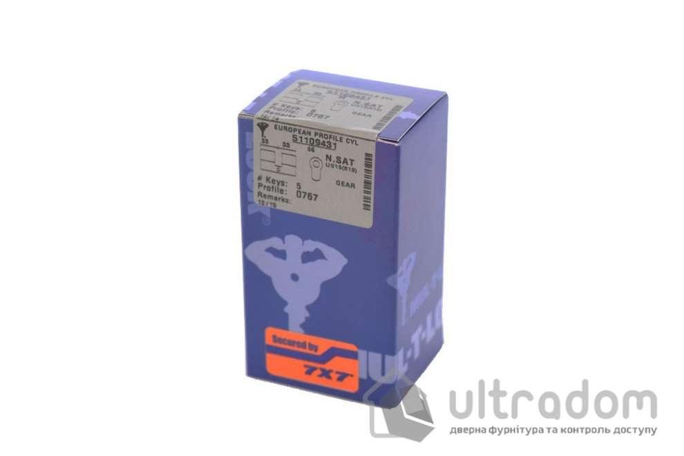 Цилиндр дверной Mul-T-Lock 7x7 кл-кл., 92 мм