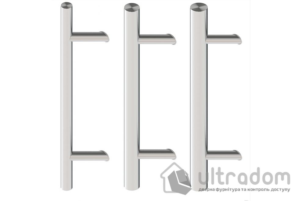 Дверная ручка-скоба Wala P45 нержавеющая сталь Ø50 мм двухсторонняя