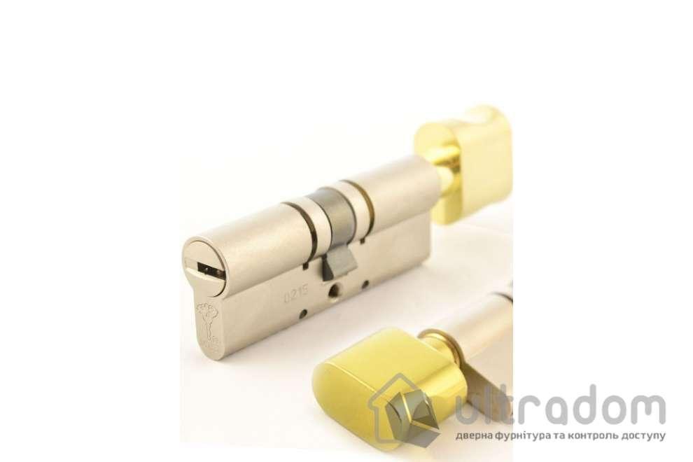 Цилиндр дверной Mul-T-Lock MT5+ ключ-вороток., 62 мм