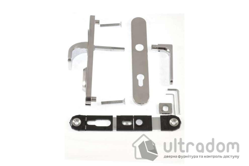 Фурнитура защитная ROSTEX RX1 Exclusive 3 класс  хром полир с фикс. ручкой 85-90