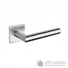 Дверная ручка TUPAI  5S на тонкой розетке  2002Q / 16 нержавеющая сталь