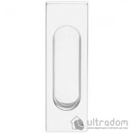 Ручки - ракушки для раздвижных дверей DND by Martinelli Rettangolare белый
