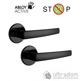 Дверная ручка ABLOY POLARITA 16/001 черная антибактериальная