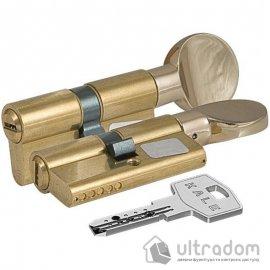 Цилиндр дверной KALE 164 SM ключ-тумблер, 71 мм.,  латунь