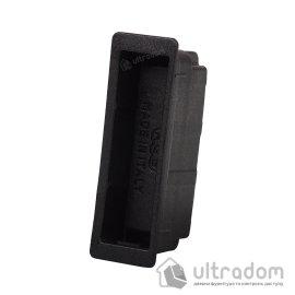 Магнитная вставка для ответной планки AGB Easy-Fix XT, цвет - чёрный