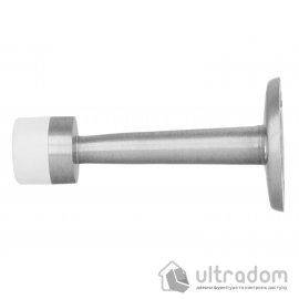 Amig Ограничитель дверной торцевой мод.600 - Ø19x75 mm матовый хром