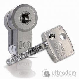 Цилиндр дверной DOM Diamond ключ-ключ, 119 мм