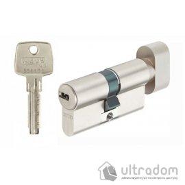 Цилиндр Abus KD6  ключ-тумблер, 100 мм., никель