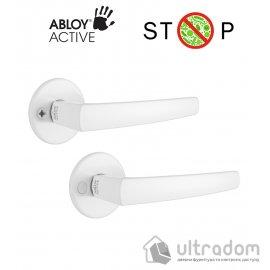 Дверная ручка ABLOY POLARITA 16/001 белая антибактериальная