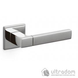 Ручка дверная Olivari  PLANET QB хром глянцевый/матовый