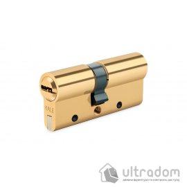 Цилиндр дверной KALE 164 DBNE ключ-ключ, 80 мм