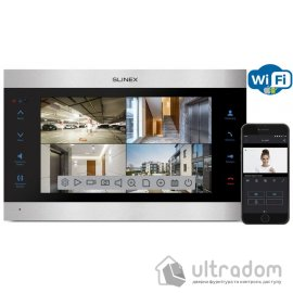 IP-видеодомофон Slinex SL-10IPT HD silver&black