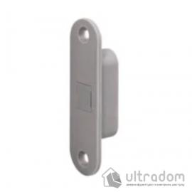 Ответная планка AGB Touch lock, для дерева, серый