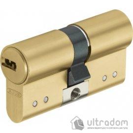 Цилиндр Abus D15 ключ-ключ, 90 мм.,  латунь
