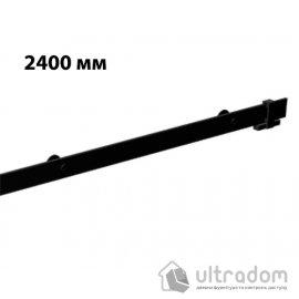 Направляющая рельса 2400 мм Mantion ROC Design в стиле LOFT, матовая чёрная