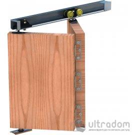 Комплект раздвижной системы - книжки Valcomp Herkules PLUS HP40 для 1 двери (до 40 кг створка)