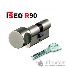Цилиндр дверной ISEO R90 ключ-тумблер, 90 мм