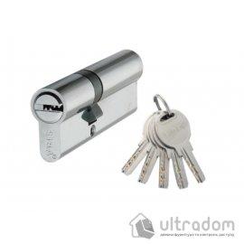 Цилиндр дверной SIBA перфорированный ключ-ключ 120 мм