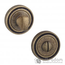 Фиксатор WC SIBA R06 матовая античная бронза 82 82