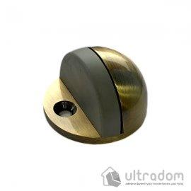 Упор дверной  полусфера D2705 античная бронза