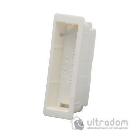 Магнитная вставка для ответной планки AGB Easy-Fix XT, цвет - белый