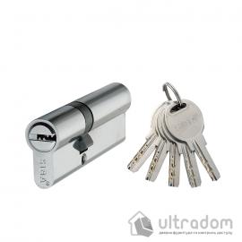Цилиндр дверной SIBA перфорированный ключ-ключ 80 мм