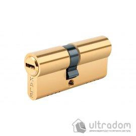 Цилиндр дверной KALE 164 OBS B ключ-ключ, 68 мм