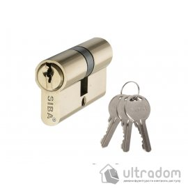 Цилиндр дверной SIBA английский ключ-ключ 62 мм