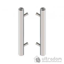 Дверная ручка-скоба Wala P10 нержавеющая сталь Ø50 мм двухсторонняя