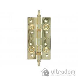 Дверные петли усиленные Amig 567 - 150 мм., цвет - латунь