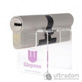 Цилиндр дверной Шерлок Hybrid Key кл-кл. 110 мм