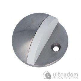 Amig Ограничитель дверной напольный мод.101 - Ø45 x 25 мм нержавеющая сталь
