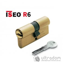 Цилиндр дверной ISEO R6 ключ-ключ, 90 мм