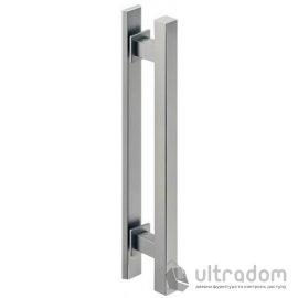 Ручка-скоба для раздвижных дверей HAFELE труба квадратная  400 мм