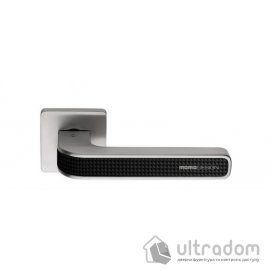 Дверная ручка COLOMBO Tecno MO 11  хром / карбониум